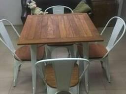 Стол обеденный АТ – 236U,стулья АС – 001L для дома,квартиры