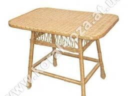 Стол плетеный из лозы 1224бр-34
