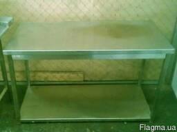 Стол производственный 1500х600 для кухни общепита