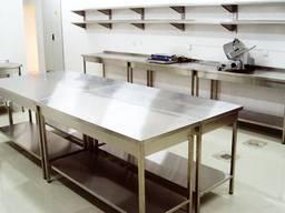 Стол производственный, пристенный, разделочный