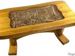 Стол резной деревянный в наличии
