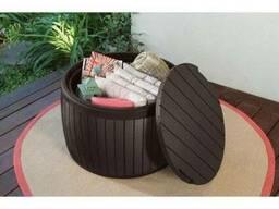 Стол-сундук Circa Wood Storage Box 140 L Allibert, Keter