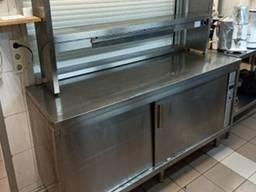 Стол тепловой б/у для подогрева посуды