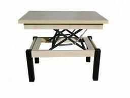 Стол трансформер Флай дуб шамони светлый Fusion Furniture