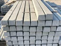 Столб бетонный под сетку рабица