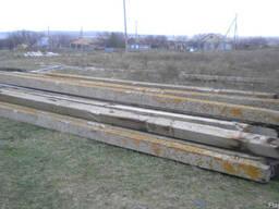 Столбики бетонные б/у высота 2,2м и 2,4м оптом - фото 2