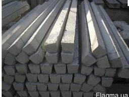 Стовпчики для поля виробляють, як зі звичайного бетону, так