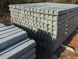 Столбы, столбики бетонные под сетку рабицу,