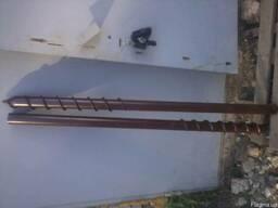 Столбы заборные (винтовые сваи) - без бетонна
