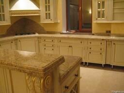 Столешницы из гранита для кухни и ванной комнаты