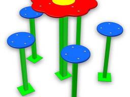 """Столик """"Цветочная поляна"""" МИАН код ДПМ120"""
