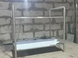 Столик косетический 800* 400* 600 с колесами или без из нержавеющей стали под заказ