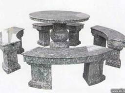 Столики из гранита и мрамора