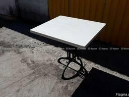 Столы белые для кафе бара 80х70см б/у Киев