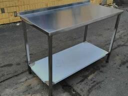 Изготовление металлических столов 1300х600х850