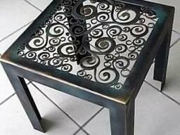 Столы и стулья из метала. Сварные.Художественная ковка