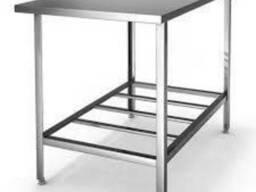 Столы из нержавеющей стали, металлические столы по выгодной