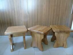 Столы, лавки, табуретки для кафе, баров, беседок