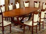 Столы обеденные из массива дерева на 6-8 человек - фото 4
