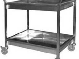 Столы, полки, тележки, ванны, мойки для кухни ресторана, кафе