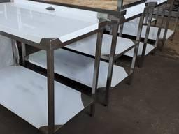 Столы производственные из нержавейки новые