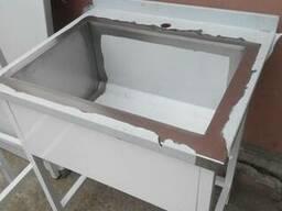 Столы производственные, ванны моечные