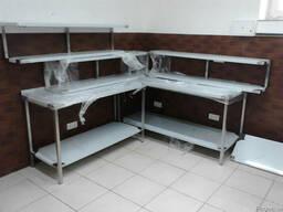 Столы производственные ванны моечные стеллажи нержавейка