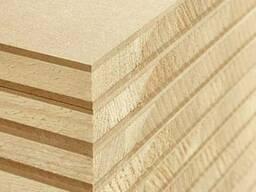 Столярная плита (blockboard) облицована мдф 3 мм