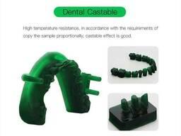 Стоматологическая зубопротезная модельная фотополимерная смола Anycubic Dental Castable. ..