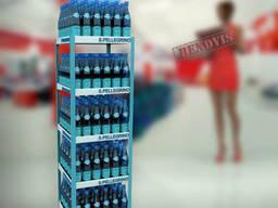 Стойка для бутылок с водой Пелегрино