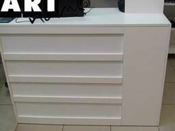 Стойка ресепшн, мебель ДСП, МДФ, пластик