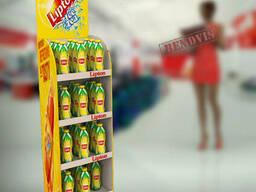 Стойка  торговая для напитков, чая Lipton