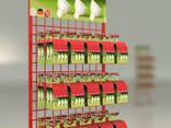 Стойки металлические торговые для ламп - photo 4