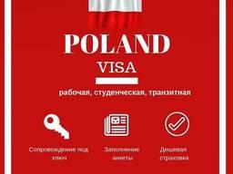 Страховка для визового центра на Польскую, Чешскую Визы.