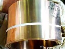 Лента бронзовая БРОФ 6,5-0,15 БрКМц 3-1