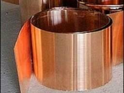 Стрічка мідна М2 М3 0,05-2,0х10-600 мм ГОСТ 1173:2007
