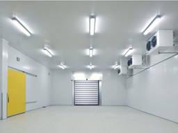 Строителльство и монтаж(сендвич панели) холодильных складов