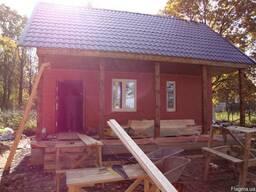 Строительная бригада для строительства дома, гаража, бани.