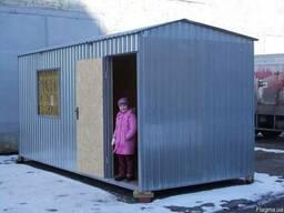 Строительная бытовка, домик 2,4 х 6,0м