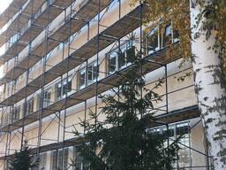 Строительные леса фасадные, облегченные от производителя