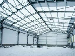 Строительство ангаров, БМЗ, складов и холодильников