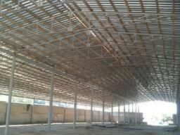Строительство ангаров, складов, зернохранилищ. - фото 4