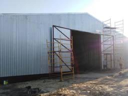 Строительство Ангаров, Зернохранилищ, Металлоконструкций. Сервисов,