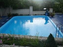 Строительство бассейнов из полипропилена.