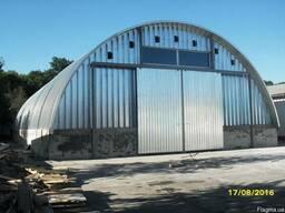 Строительство бескаркасных ангаров, складов, зернохранилищ