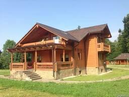 Строительство дома из клееного профилированного бруса