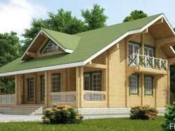Строительство дома под ключ (Сосна) 11х12 м