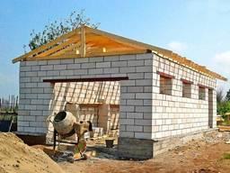 Строительство домов, бань, гаражей