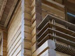 Строительство домов из клееного бруса (термобруса)