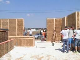 Строительство энергоэффективных домов с природных материалов